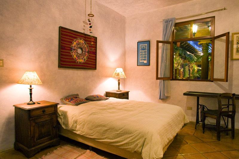 Bedroom downstairs window on Courtyard