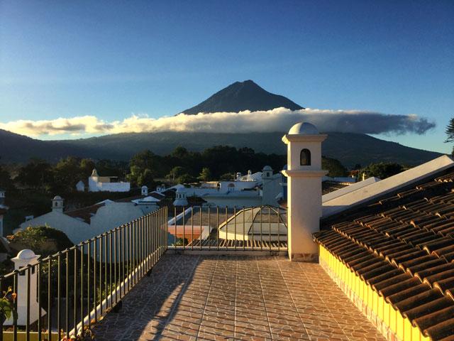 Observation Deck Casabella Antigua Guatemala