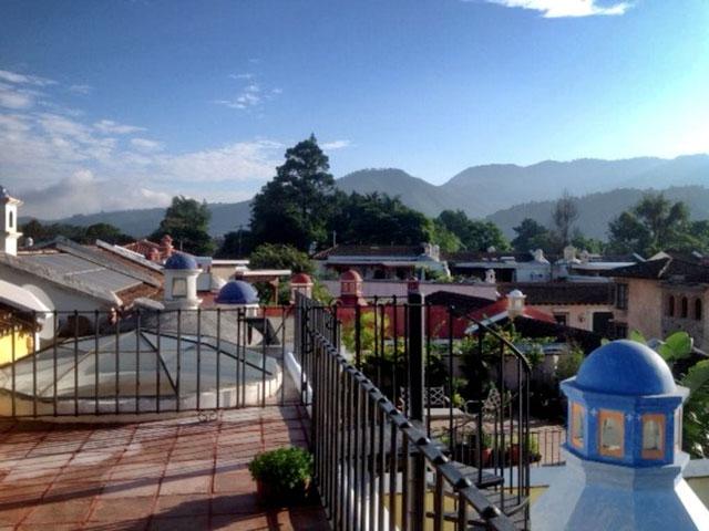 Observation Deck looking north Casabella Antigua Guatemala